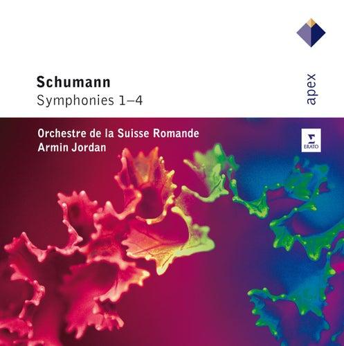 Schumann : Symphonies Nos 1-4 by Armin Jordan