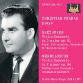 Beethoven & Mendelssohn: Violin Concertos de Christian Ferras