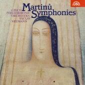 Martinu: Symphonies Nos. 1-6 by Czech Philharmonic Orchestra