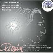Chopin: Piano Concerto No. 1, Andante spianato and grande polonaise, Mazurkas by Various Artists