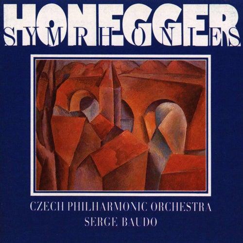 Honegger:  Symphonies Nos 1-5, Pacific 231, Mouvement symphonique No. 3 by Czech Philharmonic Orchestra