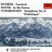 Dvorak:  Carnival / Novak:  In the Tatras / Tchaikovsky:  Symphony No. 6