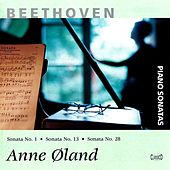 Beethoven: Piano Sonatas, Vol. 8 by Anne Oland