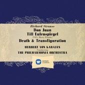Strauss: Don Juan, Op. 20, Till Eulenspiegel, Op. 28 & Death and Transfiguration, Op. 24 by Herbert Von Karajan