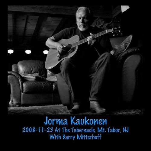 2008-11-23 At The Tabernacle, Mt. Tabor, NJ by Jorma Kaukonen