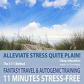 11 Minutes Stress-Free - Alleviate Stress Quite Plain! A Fantasy Travel to the Sea & Autogenic Training von Various Artists