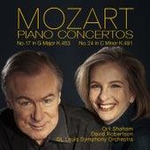 Mozart: Piano Concertos No. 17, K. 453 & No. 24, K. 491 von Orli Shaham