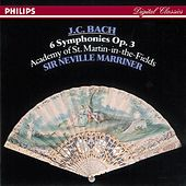 Bach, J.C.: 6 Symphonies, Op.3 by Various Artists