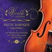 Vivaldi Collection 9 the World Premiere Recording All Vivaldi Violin Sonatas RV 776 - 816 from Baltic Baroque / Grigori Maltizov de Baltic Baroque