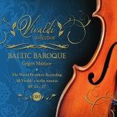 Vivaldi Collection 7 the World Premiere Recording All Vivaldi Violin Sonatas RV 33 - 37 from Baltic Baroque / Grigori Maltizov de Baltic Baroque
