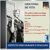 De Vito, Gioconda: Earliest Studio Recordings (1947-1949) by Various Artists