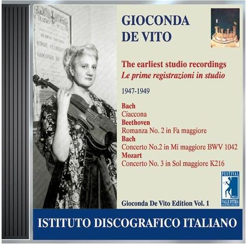 De Vito, Gioconda: Earliest Studio Recordings (1947-1949) by Various Artists