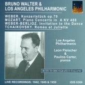 Mozart, W.A.: Piano Concerto No. 23 / Weber, C.M. Von: Konzertstuck, Op. 79 / Tchaikovsky, P.I.: Romeo and Juliet (Walter) (1942, 1949, 1950) de Bruno Walter