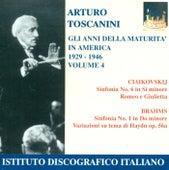 Tchaikovsky, P.I.: Symphony No. 6 / Romeo and Juliet / Brahms, J.: Symphony No. 1 (Years of Maturity in America, Vol. 4) (Toscanini) (1929-1946) by Arturo Toscanini