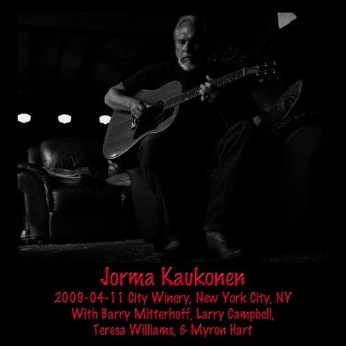 2009-04-11 City Winery, New York, NY by Jorma Kaukonen