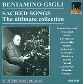 Vocal Recital: Gigli, Beniamino - Carnevalli, V. / Franck, C. / Bach, J.S. / Gounod, C.-F. / Cecconi, G. / Brahms, J. / Kahn, P.B. (1932-1954) by Beniamino Gigli