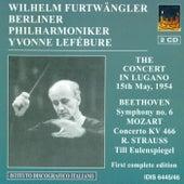 Beethoven, L. Van: Symphony No. 6 / Mozart, W.A.: Piano Concerto No. 20 / Schubert, F.: Symphony No. 8 von Wilhelm Furtwängler