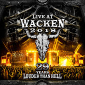 Live At Wacken 2018: 29 Years Louder Than Hell van Various Artists