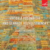 Viktoria Postnikova & Gennady Rozhdestvensky. Piano Ensembles von Viktoria Postnikova