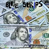 Blue Strips by Yung Euro
