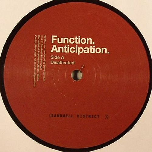 Anticipation by Function