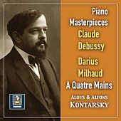 Debussy & Milhaud: Works for Piano 4-Hands by Alphons Kontarsky