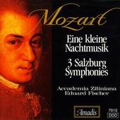 Mozart: Kleine Nachtmusik (Eine) / Salzburg Symphonies Nos. 1-3 by Eduard Fischer