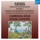 Händel: Sonaten für Blockflöte / Sonatas for Recorder von Camerata Köln