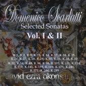 Domenico Scarlatti Selected Sonatas, Vol. 1 - 2 de David Ezra Okonsar