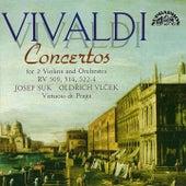 Vivaldi: Concertos for 2 Violins and Orchestra von Josef Suk