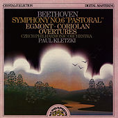 Beethoven: Symphony No. 6, Egmont & Coriolan Overtures by Czech Philharmonic Orchestra