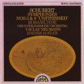 Schubert: Symphony No. 3, Symphony No. 8 & Rosamunde Incidental Music by Czech Philharmonic Orchestra