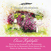Classic Highlights Waltz of the Flowers, Air, Moonlight, Dance of the Blessed Spirits (Orpheus) (Classical Masterpieces) de Various Artists