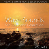 Wave Sounds for Sleep and Relaxation Volume 1 de Tmsoft's White Noise Sleep Sounds