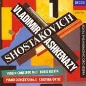 Shostakovich: Violin Concerto No.1; Piano Concerto No.2 by Various Artists