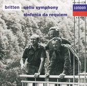 Britten: Cello Symphony; Sinfonia da Requiem; Cantata Misericordium de Mstislav Rostropovich