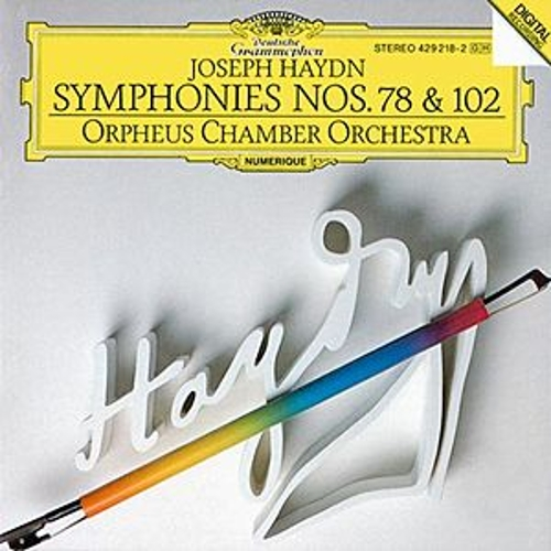 Haydn: Symphonies No.78 & No.102 by Orpheus Chamber Orchestra