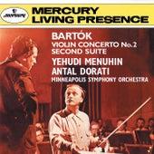 Bartók: Violin Concerto No. 2; Suite No. 2 von Yehudi Menuhin