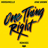 One Thing Right (Remixes) by Marshmello