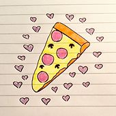 I Love You Pizza von Felix (Rock)
