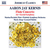 Kernis: Flute Concerto, Air & Symphony No. 2 de Various Artists