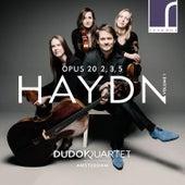 Haydn: String Quartets, Op. 20, Volume 1, Nos. 2, 3 & 5 de Dudok Quartet Amsterdam