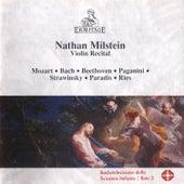 Nathan Milstein - Violin Recital de Nathan Milstein