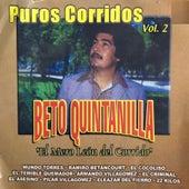 El Mero León del Corrido: Puros Corridos, Vol. 2 by Beto Quintanilla