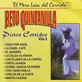 El Mero León del Corrido: Puros Corridos, Vol. 3 by Beto Quintanilla