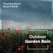 Outdoor Garden Rain de Thunderstorm Sound Bank