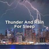 Thunder And Rain For Sleep de Thunderstorm Sound Bank