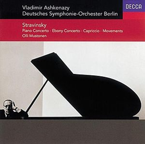Stravinsky: Concerto for Piano & Winds/Ebony Concerto/Capriccio/Movements by Various Artists