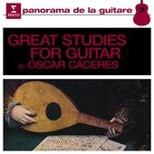 Great Studies for Guitar, Vol. 1 de Oscar Cáceres