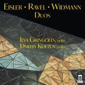 Eisler, Ravel & Jörg Widmann: Duos de Ilya Gringolts
